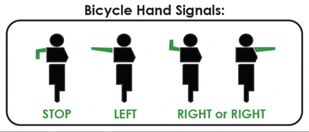 Is Bicycling Good Exercise - bicycle hand signals