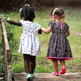 Corona Virus and Kids- preschool kids walking