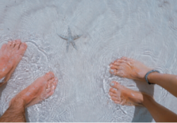What is Diabetic Foot Care? - feet in water