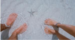 What is Diabetic Foot Care? - feet in water