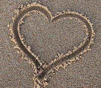 Honeymoon Period Type 1 Diabetes - heart in sand