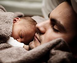 I Need to Hug - Dad and baby