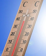 Does Heat Affect Diabetes - thermometer
