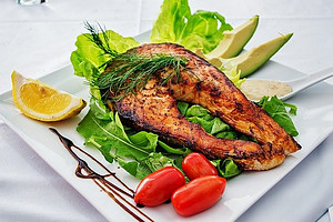 Mediterranean Diet and Diabetics - healthy meal