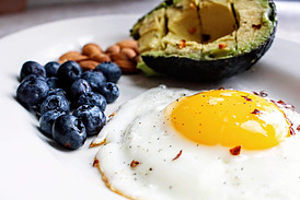 The Keto Diet and Diabetics - breakfast