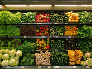 How are Pesticides Harmful - food in grocery store