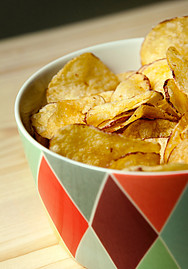 Diabetes and Marijuana - potato chips