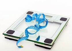 lose weight as a diabetic. - bathroom scale