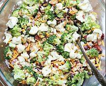 Quick Easy Summer Recipes - broccoli salad