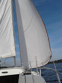 What is a Mini-vacation - sailing on a lake