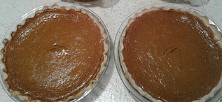 Happy Thanksgiving in Canada - pumpkin pies