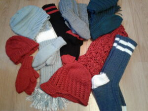 Hobbies For Women Over 50 - knit and crocheted gifts
