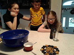 Easy Holiday Baking Ideas - baking with 3 of our grandchildren