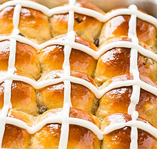 Easter and Diabetes - Hot Cross Buns