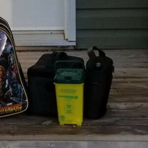 D-Bags for 1st day of school