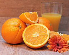 Oranges are rich in vitamin C